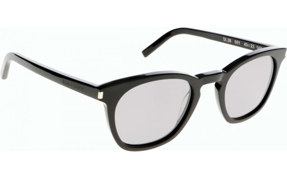 Saint Laurent SL28 Sonnenbrille Schwarz 001 49mm 5mkIiy4w9Q